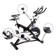 Vélo de biking à friction KHRONOS. Volant de 22 Kg. Utilisation réguliére.Guidon de triathlon. H9162FD