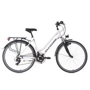 VTC femme 28'' Metropolis blanc guidon plat TC 48 cm KS Cycling