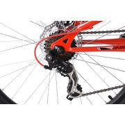 VTT Tout Suspendu 26'' Nice 21 Vitesses noir-rouge KS Cycling