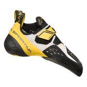 Chaussons d'escalade La Sportiva Solution blanc jaune
