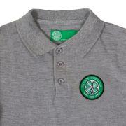 Celtic FC officiel - Polo thème football - avec blason - garçon