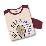 Sweatshirt bicolore Jeu Set & Match
