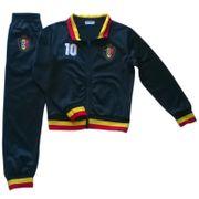 Jogging survétement de foot enfant Belgique  news Taille de 4 é 14 ans - 4 ans noir