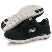 Skechers Flex Advantage 2.0 noir, chaussures de training / fitness femme