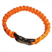 Bracelet Paracord orange Bushcraft BCB