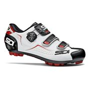 Chaussures Sidi VTT Trace blanc noir rouge