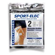 Pack de 10 électrodes doubles exportées Sport-Elec Electrostimulation