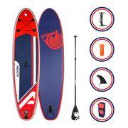 Pack Stand up Paddle EXPLORER 10'8 (325cm) 32'' (81cm) 6'' (15cm) - SUP avec dérive centale et support caméra, livré avec pompe, Pagaie et Sac de transport