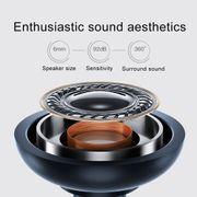 Écouteur avec Bluetooth-AWEI AK5 Oreillette Bluetooth sans fil intra-auriculaire (Noir)