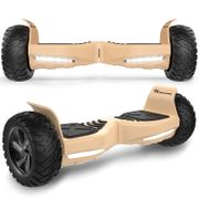 EVERCROSS Hoverboard Bluetooth 8.5 pouces,  Gyropode Overboard avec Application, SUV Hummer Tout Terrain, Or