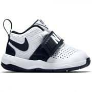 Chaussure de Basketball Nike Team Hustle D 8 ( TD ) blanc pour bébé Pointure - 27