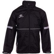 Optimum Storm Mens Rain Jacket Winter Coat Black - S