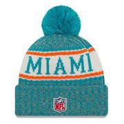 Bonnet avec pompon Miami Dolphins NFL sport knit doublé polaire