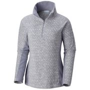 Columbia Glacial™ IV Print 1/2 Zip Astral Tweed L