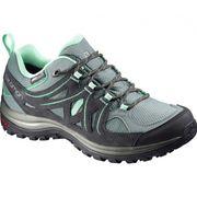 Salomon - Ellipse 2 CS WP chaussures de randonnée pour femmes (gris/turquoise)