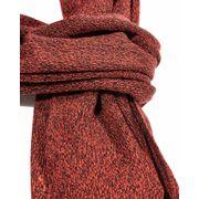 Echarpe coloré rouge et noir
