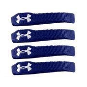 Under Armour Wristband 1 4 bandeaux poignet et biceps bleu