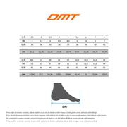Chaussures DMT D3 noir blanc orange