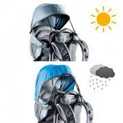 Pare-soleil et pluie Deuter seul pour Kid Comfort Air et II
