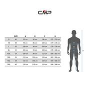 Veste CMP FP 600 gris