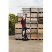 Hudora - Panier de Basketball Mobile Enfant - Noir