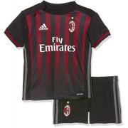 Milan Ac Bébé Garçon Minikit Football  Noir Adidas