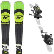 ROSSIGNOL Pursuit 400 Ca Ski + Nk12 K Dual Fixations Homme