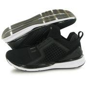 Puma Ignite Limitless Weave noir, chaussures de training / fitness femme