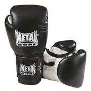 Gants initiation Metal Boxe Noir Taille - 6oz