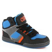 Baskets montantes enfant OSIRIS NYC 83 Kids Black Astro Orange