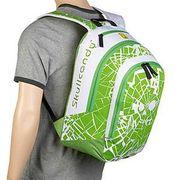 Sac a dos Skullcandy Shattered Backpack Green lime ltd