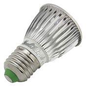 Lampe pour croissance plante- E27 5W 450LM Ampoule de Projecteur, 5 LED, Lumière Blanche Chaude, 3000K, AC 85-265V