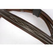 Kerbl Bridon Classic Cuir Marron Complet 324913