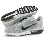Nike Air Max Sequent 2 gris, baskets mode homme