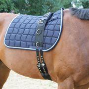 Kerbl Sous-ventrière pour poney Noir 32354