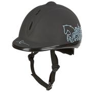 Covalliero casque d'équitation Beauty VG1 53-57 cm noir 328251