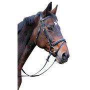 Kerbl Bridon Classic Cuir Noir Complet 326139