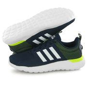 more photos cba16 185a4 Adidas Neo Cloudfoam Lite Racer bleu, baskets mode homme