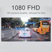 Dashcam camera dvr auto-5.0 Mega Pixels 160 Degrés grand Angle Full HD 1080P Touch Bouton Vidéo DVR de Voiture, Soutenir la Cart