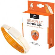 Bracelet anti-moustiques orange Pharmavoyage