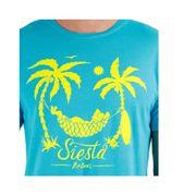 SIESTA SMILE CUSTOM TEE BLE - Tee shirt Garçon Rip Curl