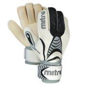 Mitre Vapor RF Roll Finger Mens Goalkeeper Goalie Glove White/Black