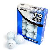 BALLE DE GOLF  Lot de 12 Balles de Golf Titleist Mix - Blanc