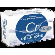 Granions de Chrome 200 µg - 30 ampoules