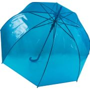 Parapluie canne transparent - KI2024 - bleu