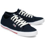 Helly Hansen Fjord Canvas Shoe V2  Navy/Red/Off White 42.5 EU (9 US / 8.5 UK)