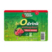 Présentoir de 30 sachets de boissons Biodrink Punch Power antioxydant fruits rouges – 40g