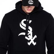Sweat à capuche New era Team logo hoody White sox noir