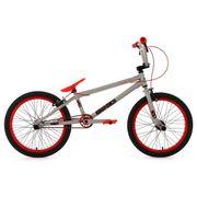 BMX Freestyle 20'' Twentyinch gris rouge 4 Pegs KS Cycling