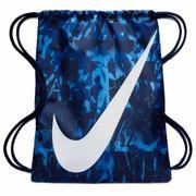 Sac de Gym Nike Graphic Bleu Swoosh Blanc
